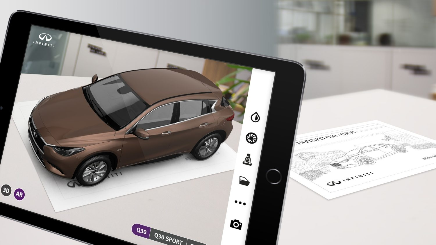 The Augmented Reality App