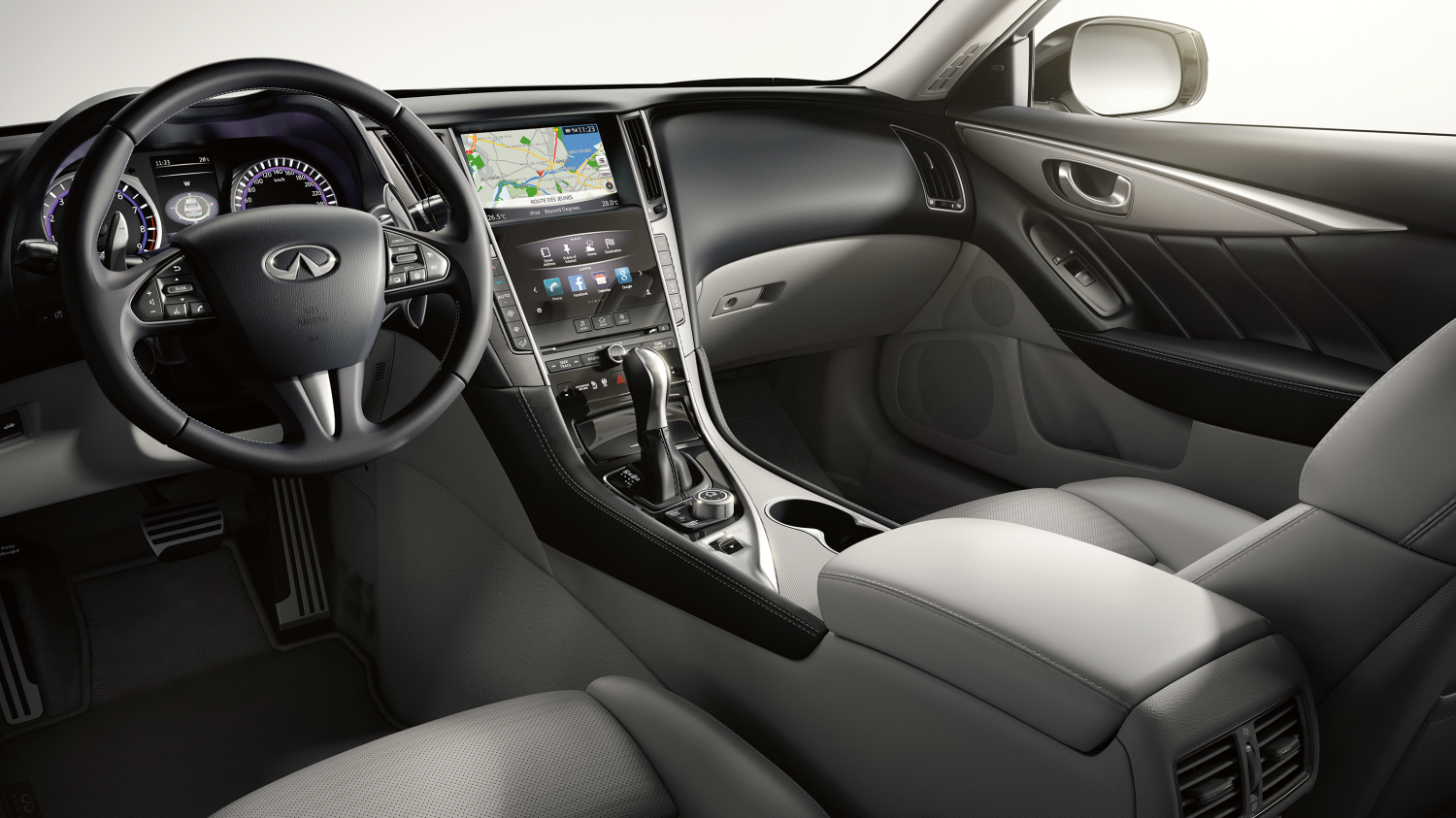 Bose Speakers For Cars >> INFINITI Q50 Features - Technology, Safety & Entertainment