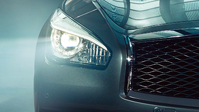 Infiniti Q70 Front Lighting