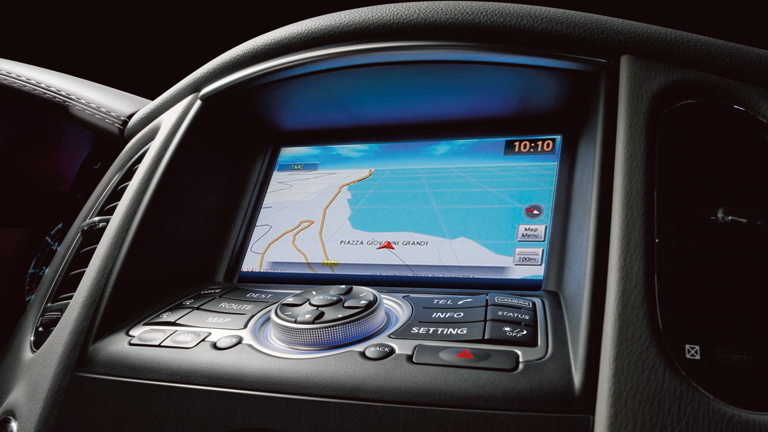Detail navigation screen