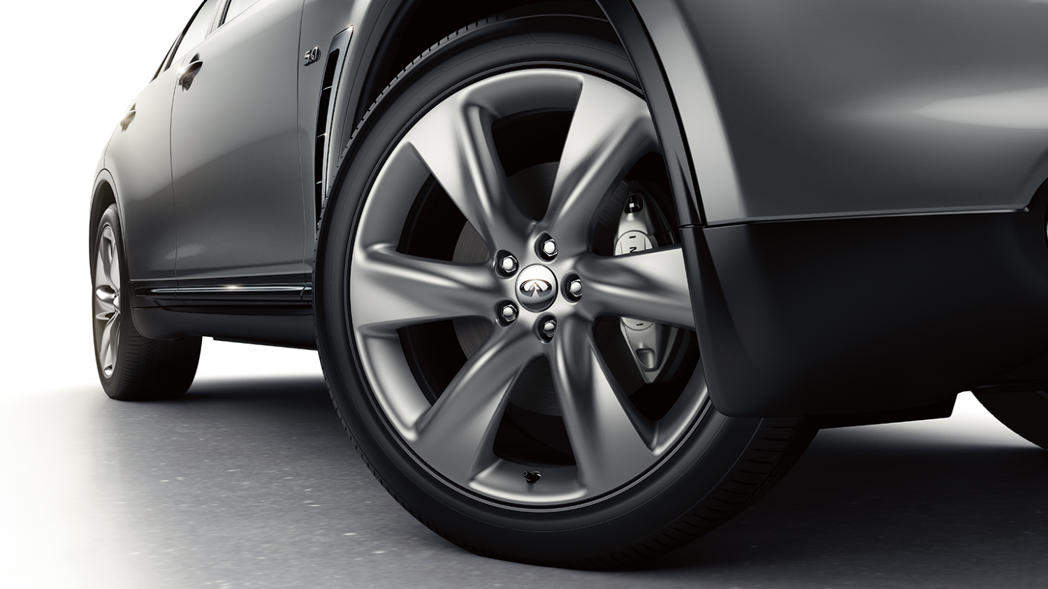 Infiniti QX70 wheel detail