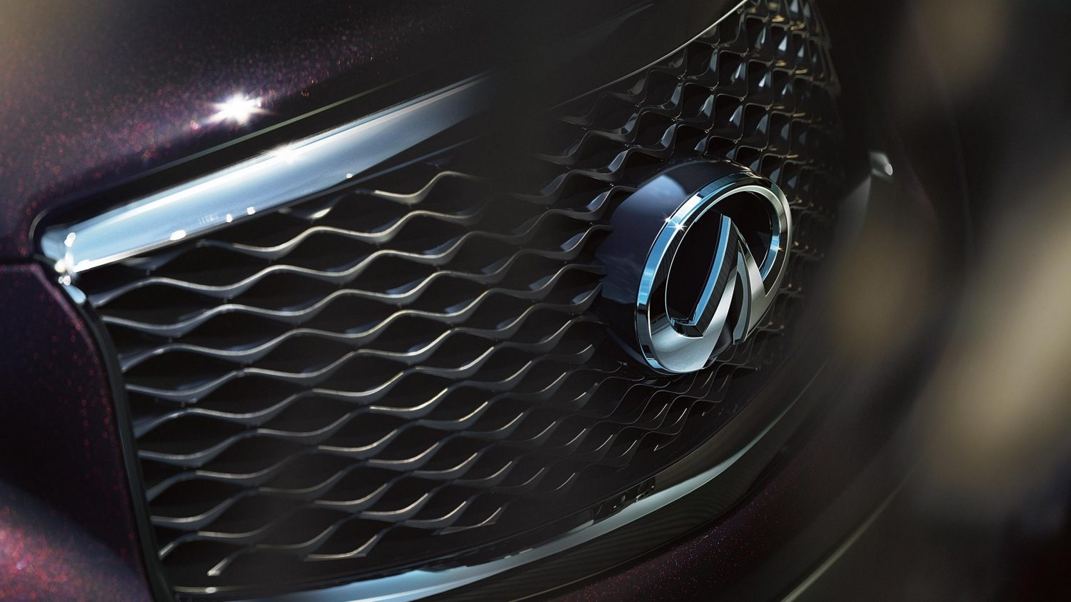 Detail front grille