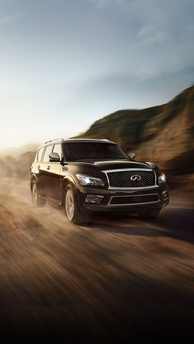 The Infiniti QX80 – Travel in First Class
