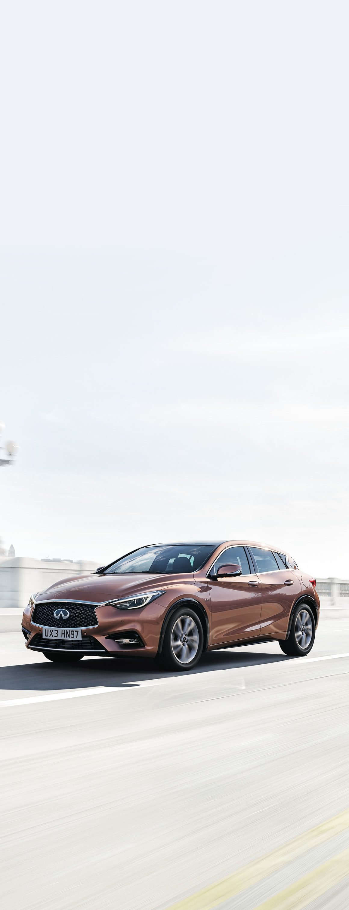 The Infiniti Q30 has arrived to shatter convention.