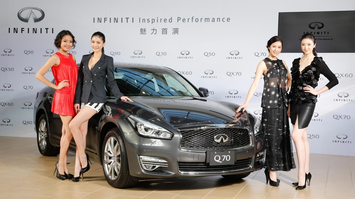 2016世界新車大展INFINITI Inspired Performance名模魅力首演