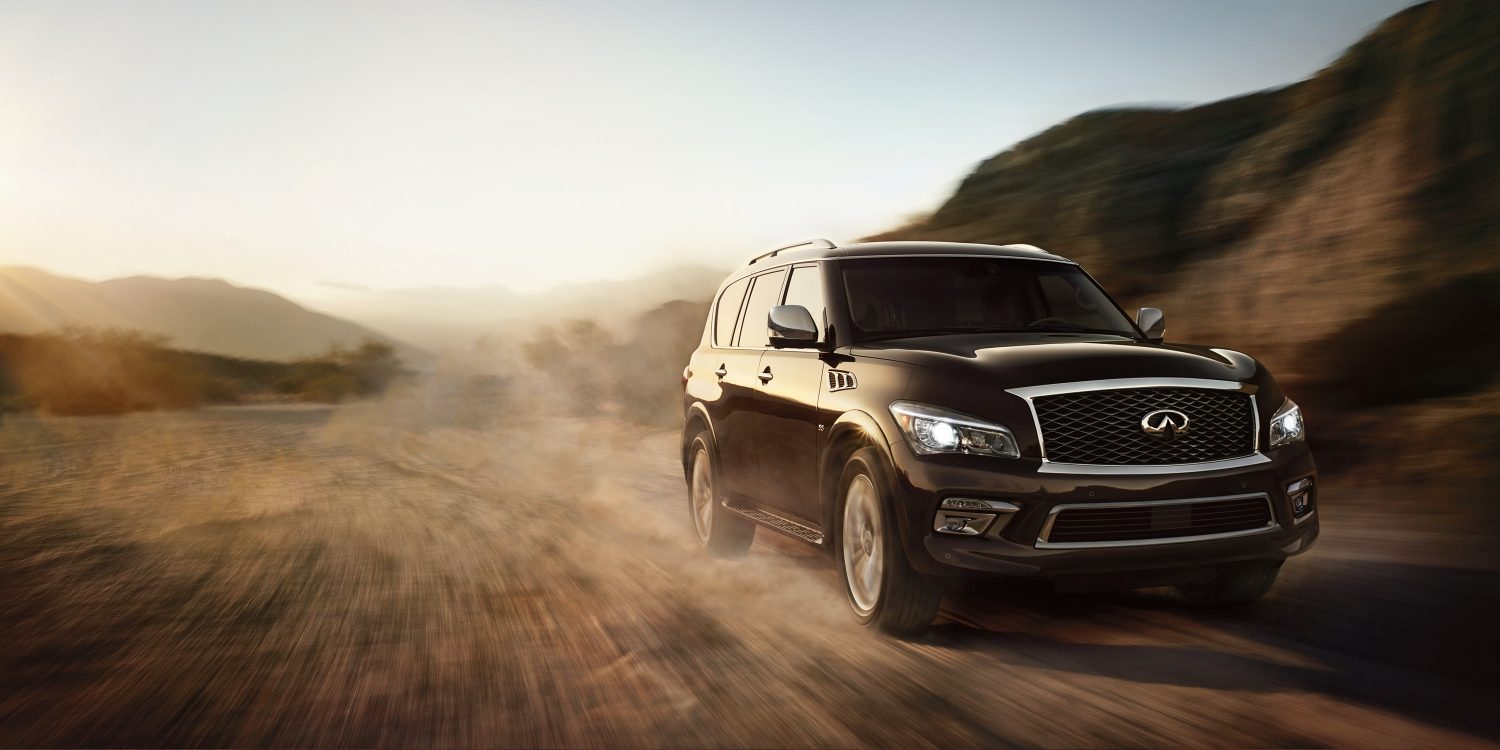 Infiniti QX80. First Class. Every Day