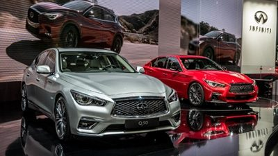 INFINITI AU SALON INTERNATIONAL DE L'AUTOMOBILE DE GENÈVE 2017