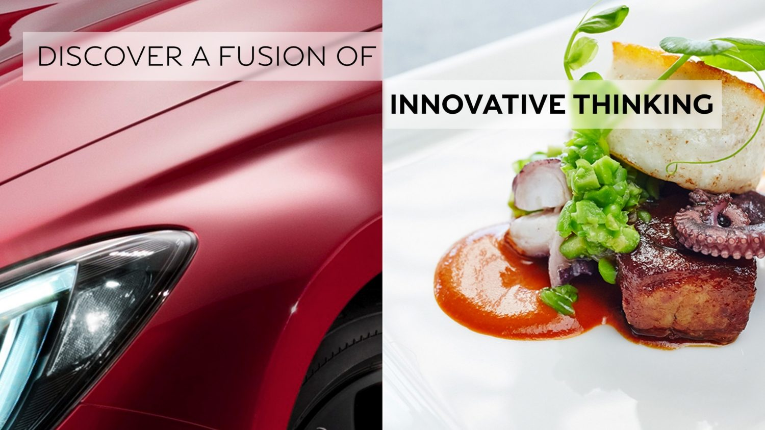 Introducing the INFINITI tastemakers