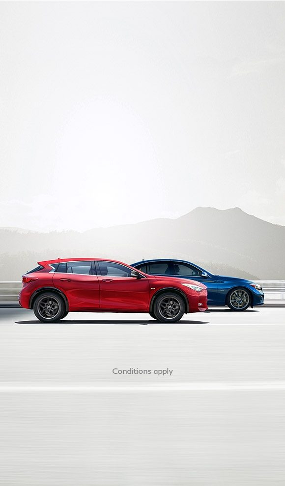 LIMITED TIME COMPLIMENTARY UPGRADES ON Q30 AND Q50 MODELS