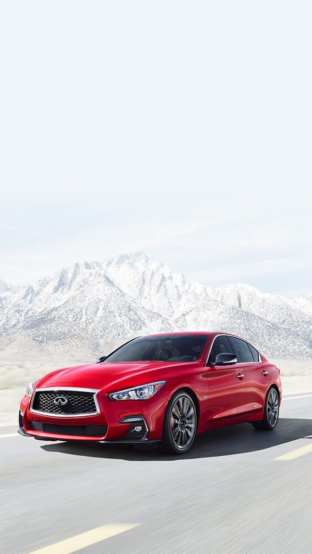 The new INFINITI Q50 - Potential Stands Fast