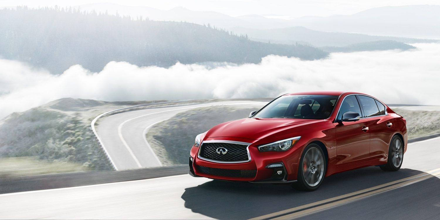 2018 INFINITI Q50 Red Sport Sedan - Dynamic Sunstone Red