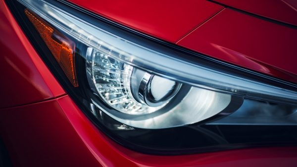 2018 INFINITI Q50 Red Sport Sedan Design | LED Headlights