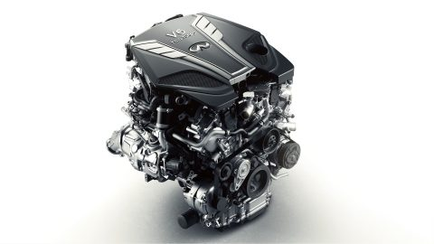 Motor Twin-Turbo V6 de 3.0L