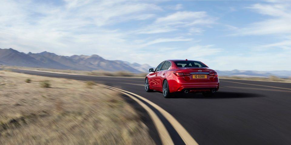 2018 INFINITI Q50 Red Sport Sedan Performance