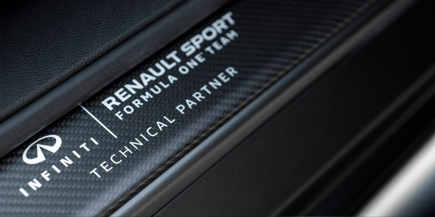 INFINITI Project Black S collaboration between INFINITI & Renault Sport F1? Team