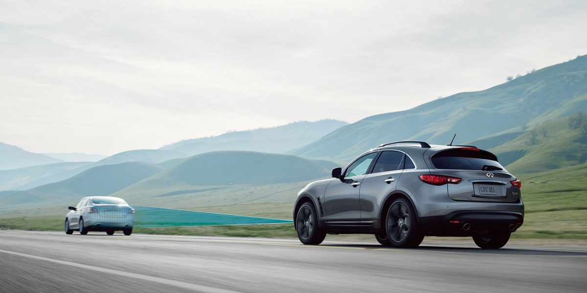 2018 INFINITI QX70 Safety Technology