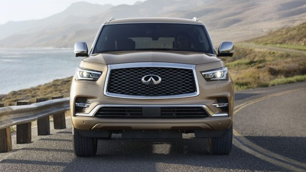 2018 INFINITI QX80 SUV Commanding Presence | All-New Signature Grille