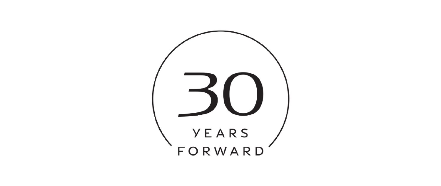 INFINITI's 30th Anniversary | 30 Years Forward Logo