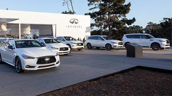 INFINITI Edition 30 Model Lineup at the 2019 Pebble Beach Concours d'Elegance