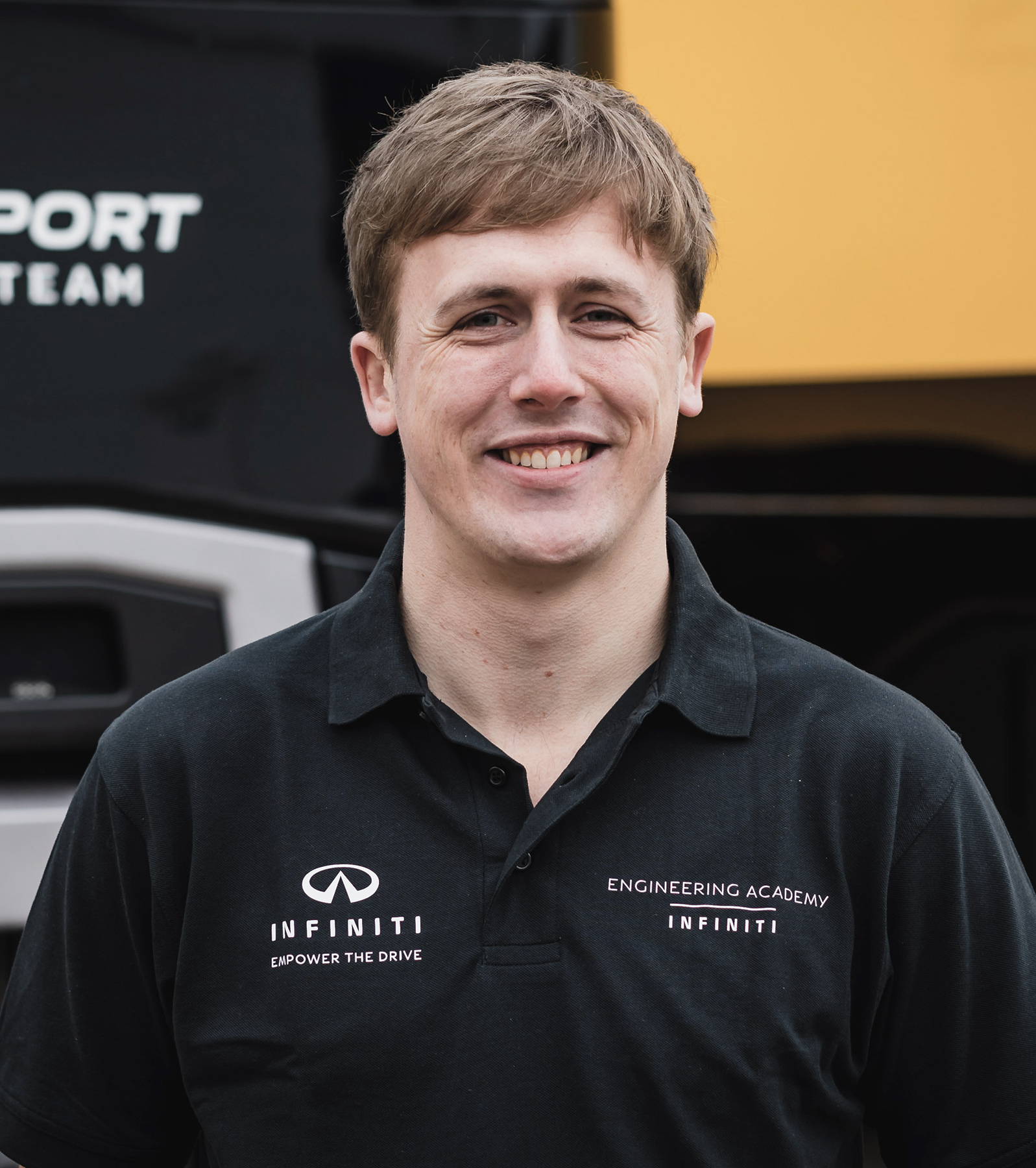 INFINITI Engineering Academy 2019 Engineer James Gourlie Profile
