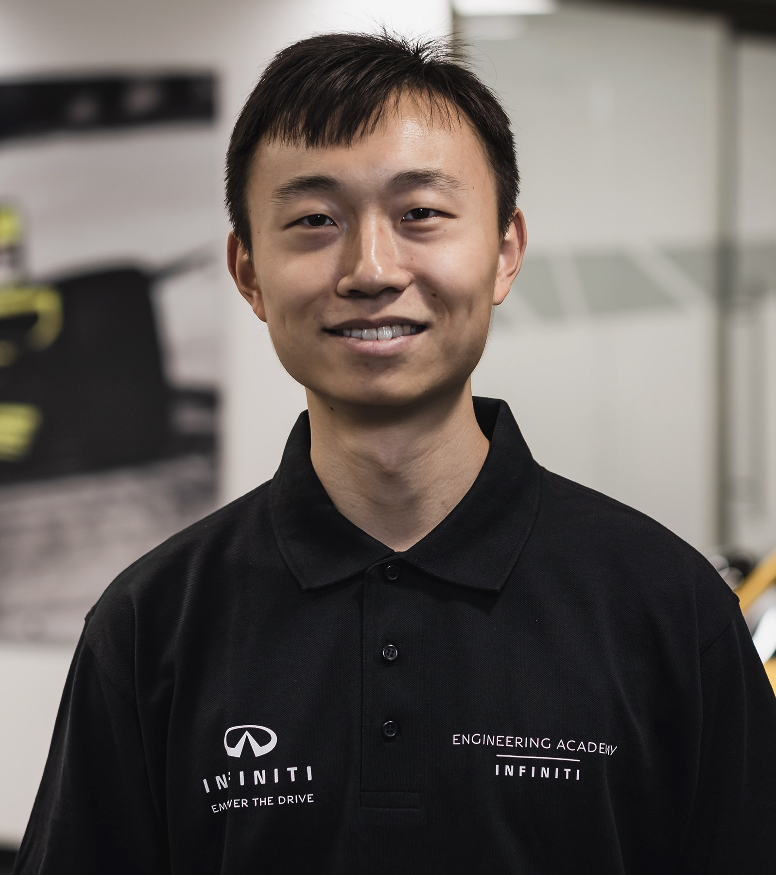 INFINITI Engineering Academy 2019 Engineer Max Zhu Profile