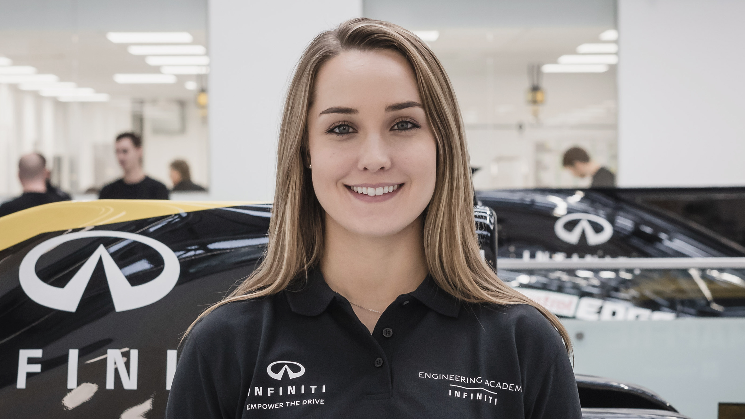 INFINITI Engineering Academy 2019 Engineer Sabre Cook Profile