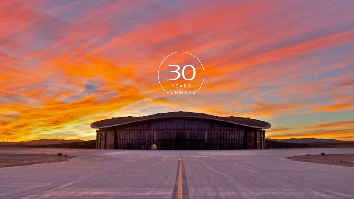 2019 INFINITI X Spaceport Pre Event Venue At Sunset