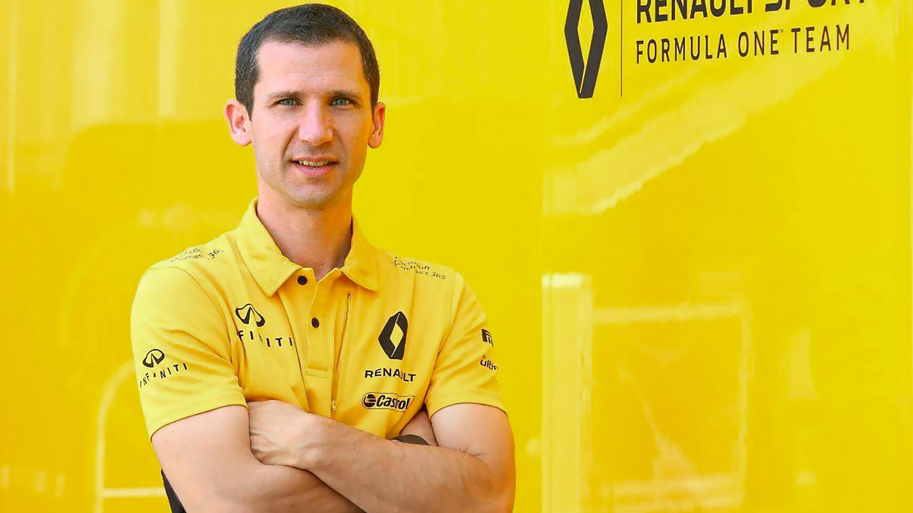 INFINITI and Renault F1™ Team Engine Technical Director Rémi Taffin