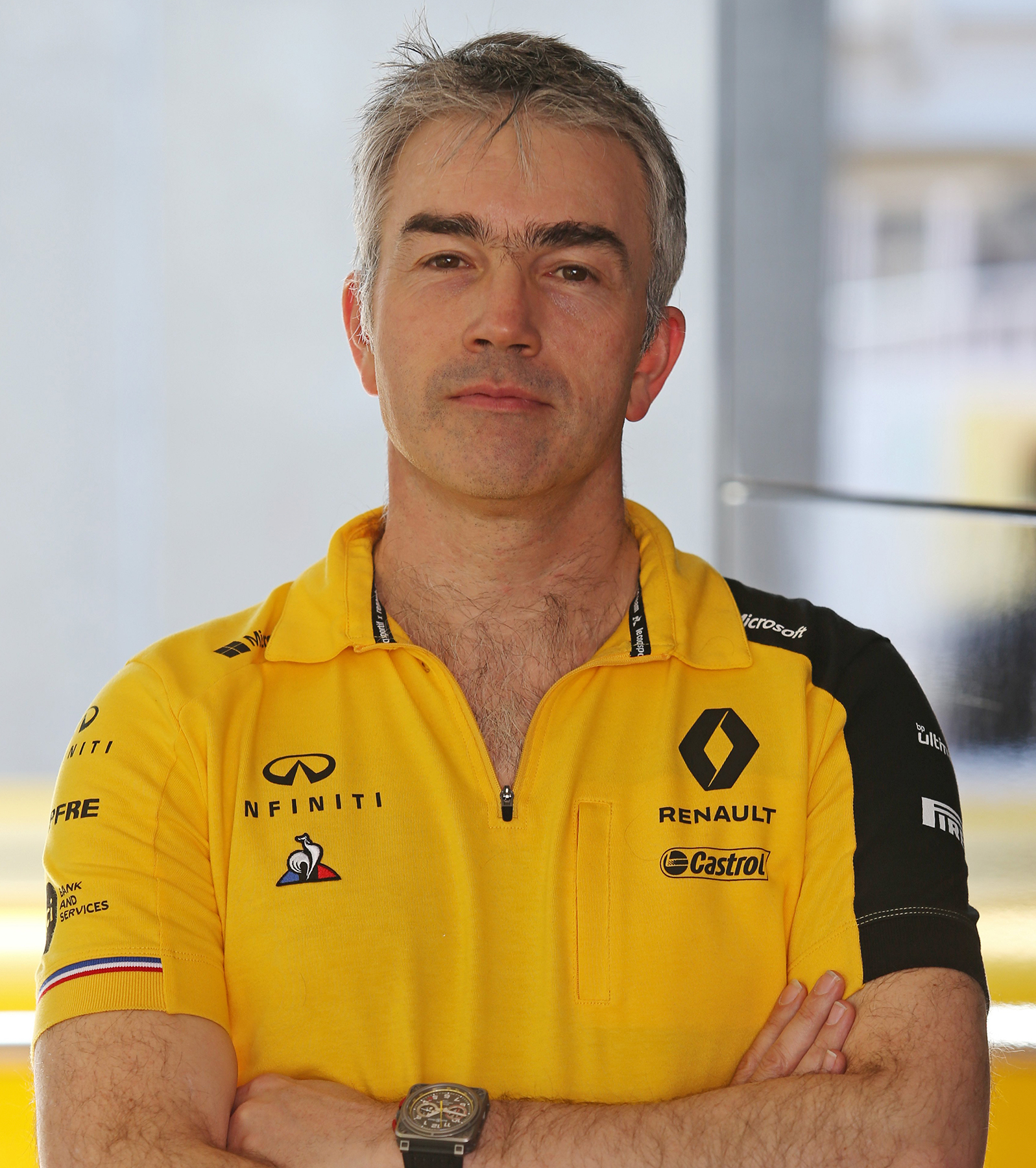 INFINITI and Renault F1™ Team Technical Director Nick Chester