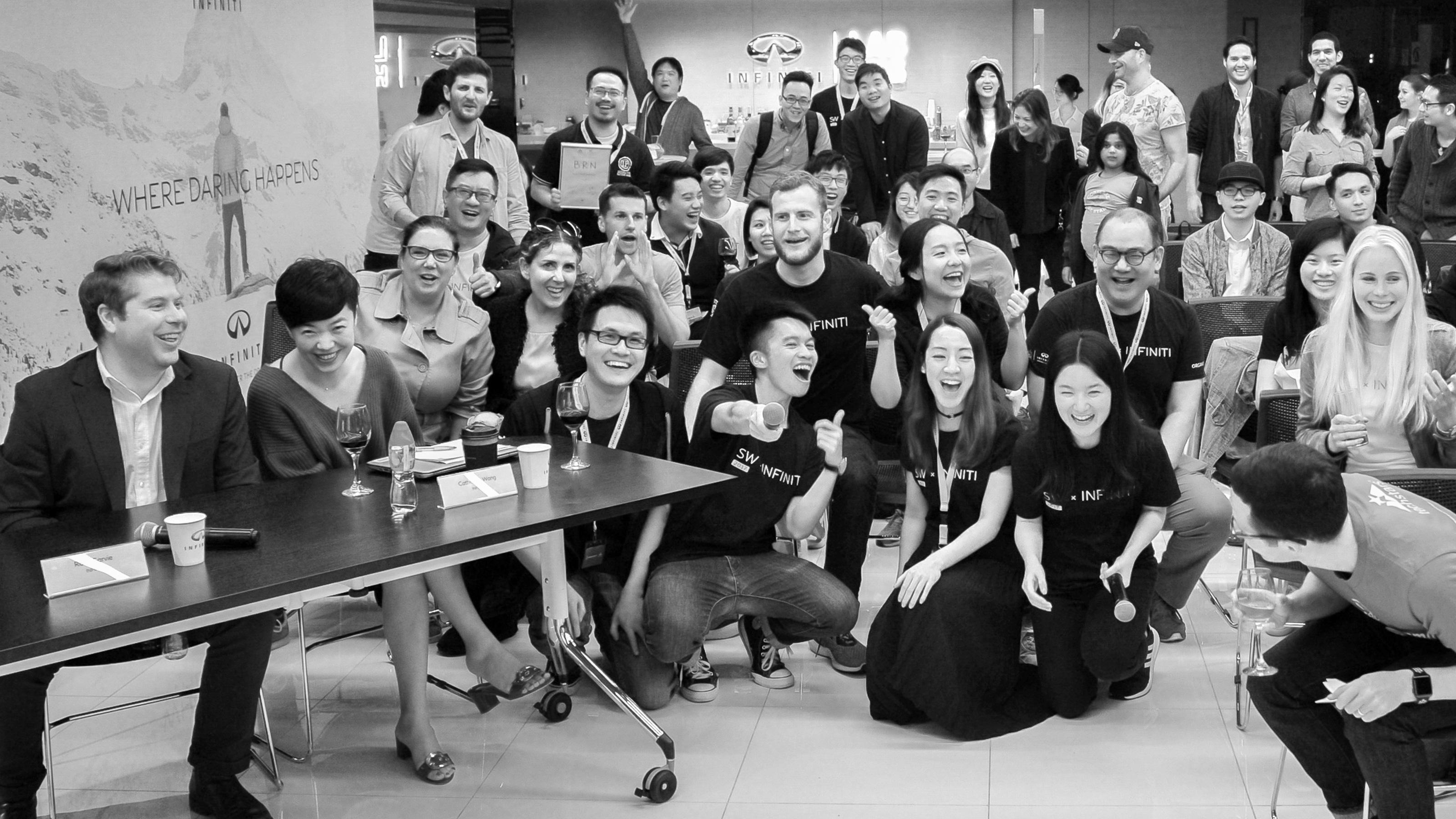 INFINITI LAB Ideate Beijing program team