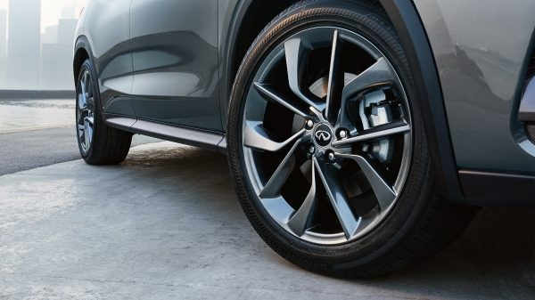 2019 INFINITI QX50 Luxury Crossover Tire Inflation Indicator