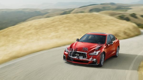 2020 INFINITI Q50 Red Sport Sedan Performance | Direct Adaptive Steering