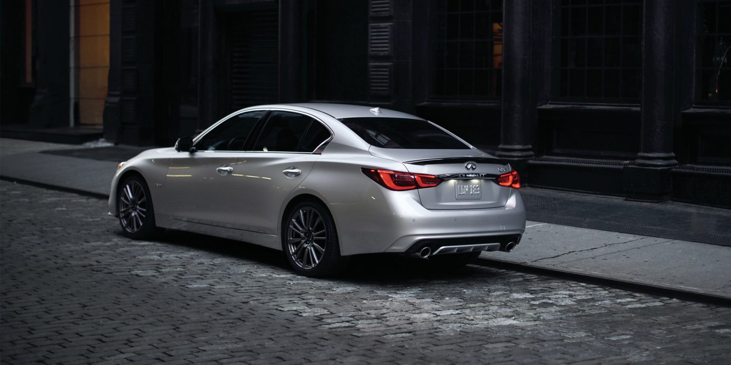 2020 INFINITI Q50 Sport Sedan Safety Drive Assist Technologies