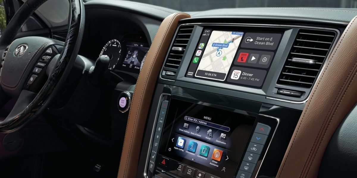 2020 INFINITI QX80 SUV Intuitive Connectivity INFINITI InTouch