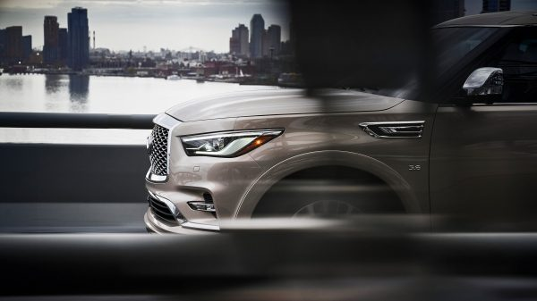 2019 INFINITI QX80 SUV Design Exterior Design Features Including New 22-inch Wheels