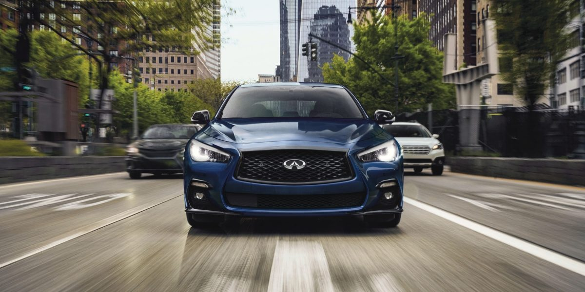 Ultra High Strength Steel and Advanced Airbag System in the 2021 INFINITI Q50