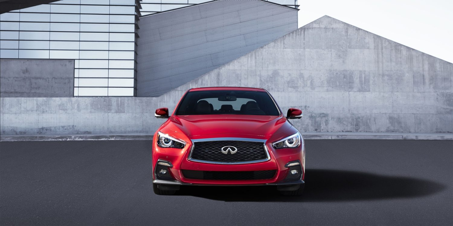 2018 INFINITI Q50 Red Sport Sedan Design | Signature Design