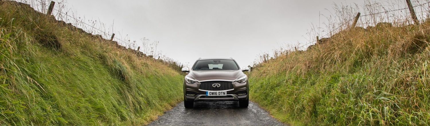 INFINITI QX30 winter