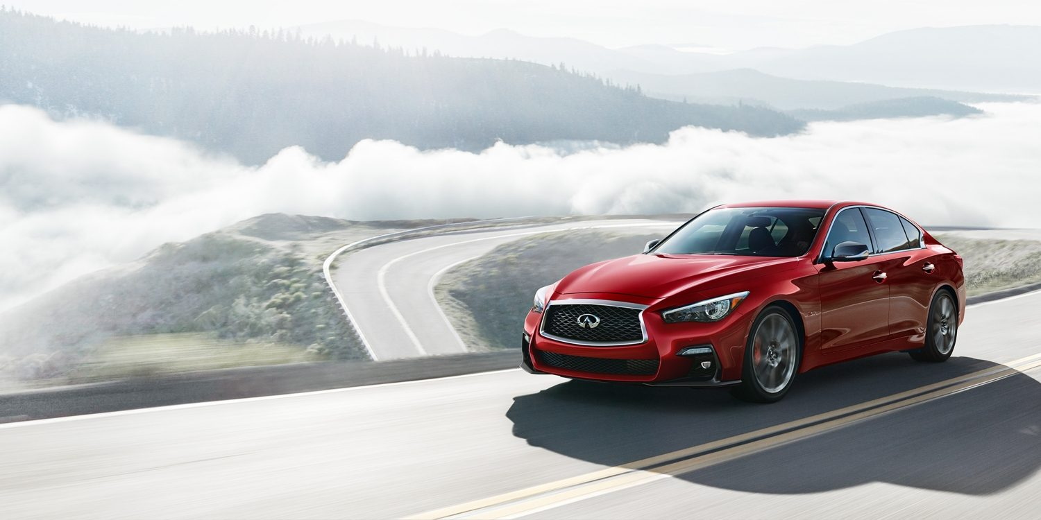 Introducing the 2018 INFINITI Q50