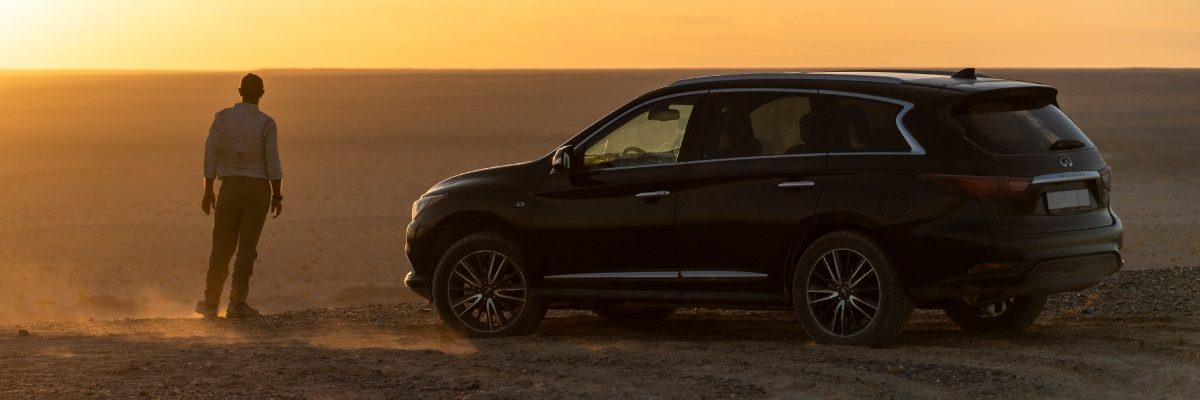 INFINITI QX Series followed the Gobi Desert venture of Roy Chapman Andrews