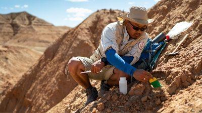 INFINITI QX Series find new fossil locations in Gobi Desert