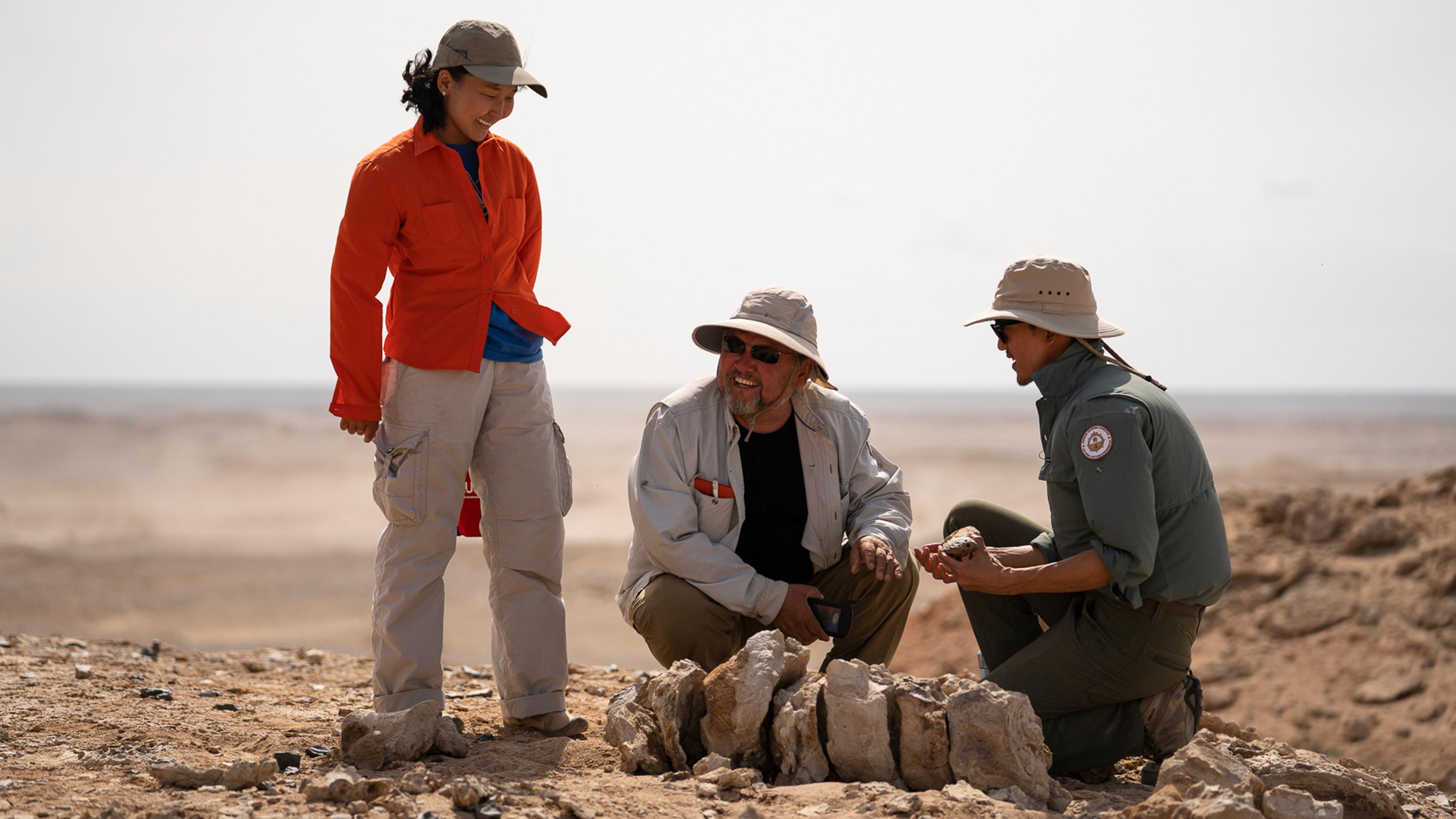 INFINITI QX Series find new discoveries in Gobi Desert