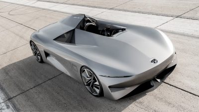 Infiniti Prototype 10 Off-The-Line Acceleration And Thrilling Speed On Racing Track