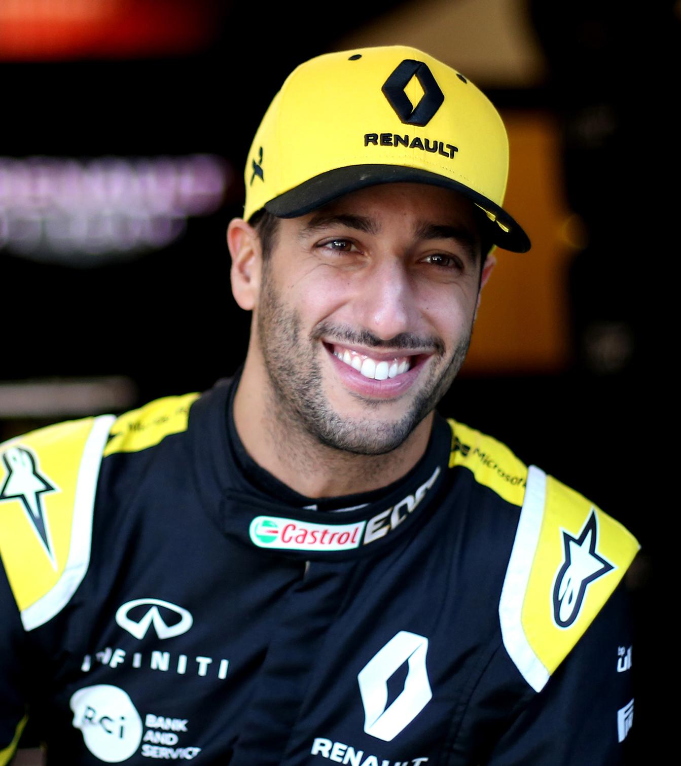 INFINITI and Renault F1? Team Driver Daniel Ricciardo