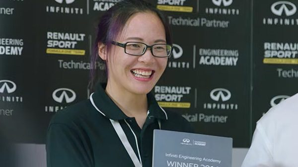 INFINITI Engineering Academy China winner 2016 - Xuezi Li