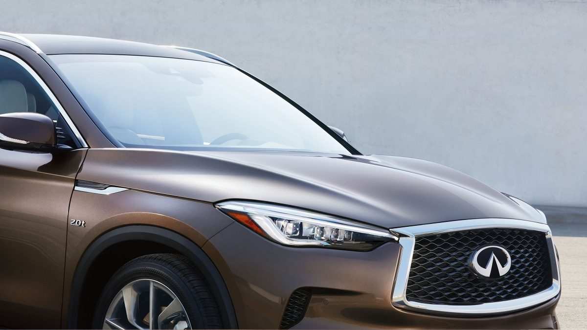2019 INFINITI QX50 Crossover Clamshell Hood Details