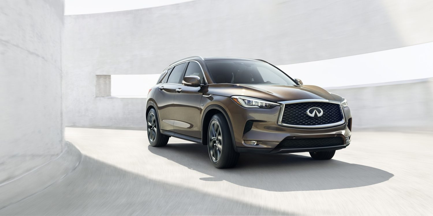 2019 INFINITI QX50 Crossover Drive Experience