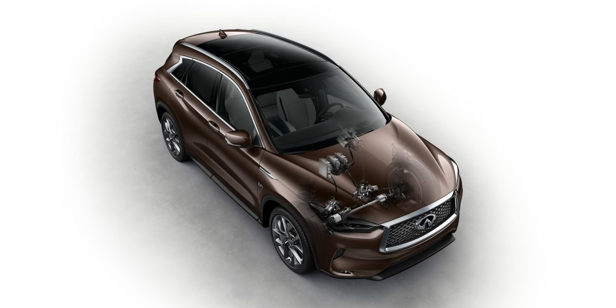 2019 INFINITI QX50 Crossover VC-Turbo Engine X-Ray