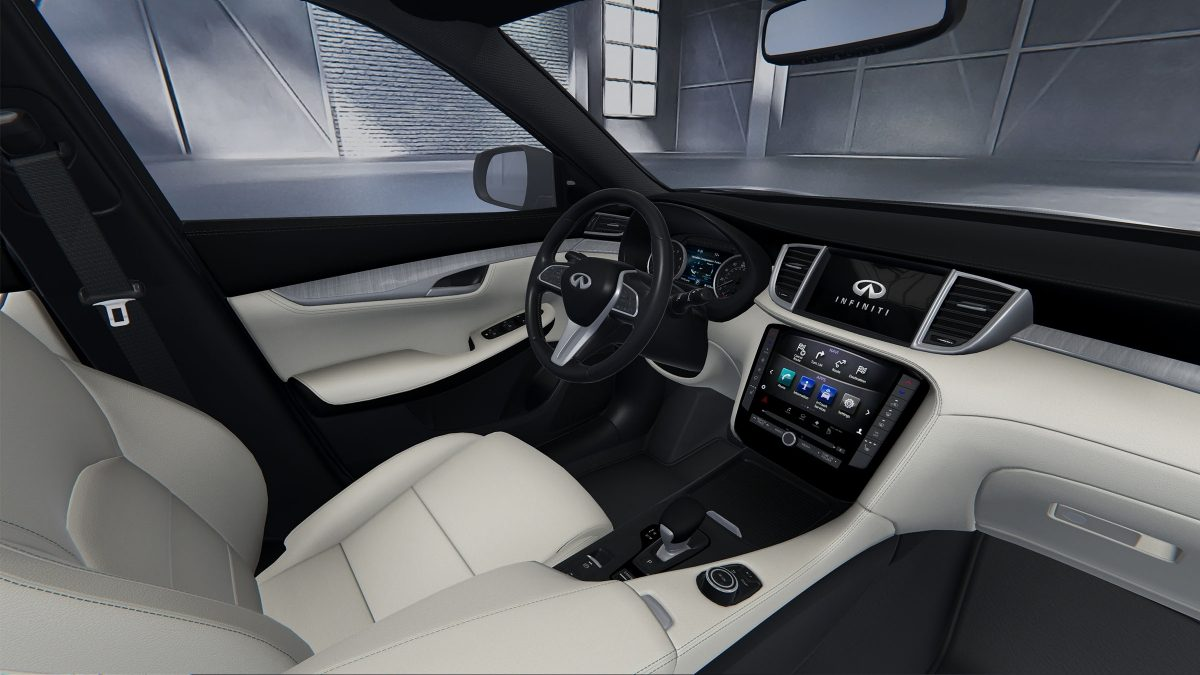 2019 INFINITI QX50 Crossover Wheat Interior