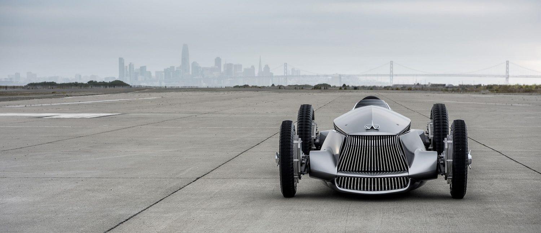 Introducing The INFINITI Prototype 9 e-Roadster